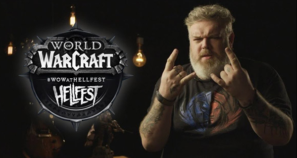 world of warcraft present au hellfest 2018