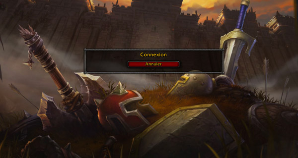 battle for azeroth : l'ecran de connexion en images et en video