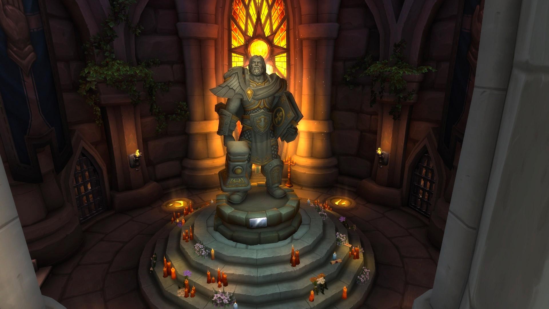 Honorez la mémoire d'Uther dans les Maleterres de l'Ouest  et de Grom dans Orneval