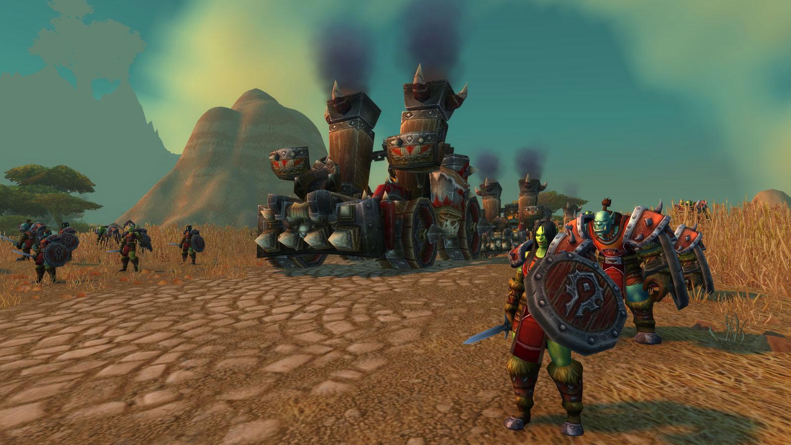 La Horde est prête à combattre