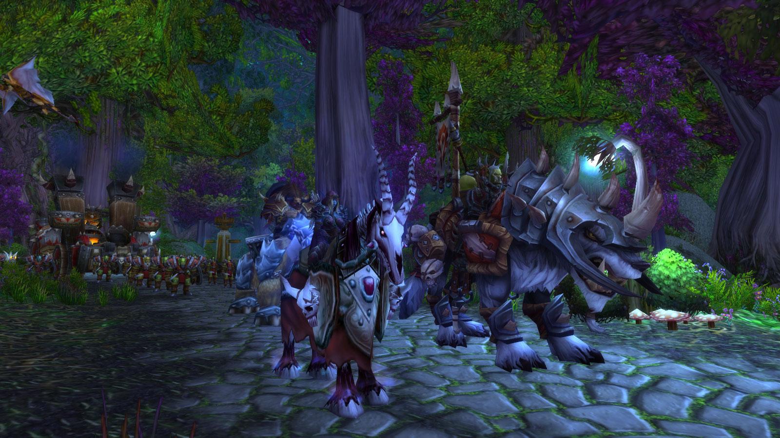 Sylvanas et le haut seigneur Saurcroc sont désormais aux portes d'Astranaar