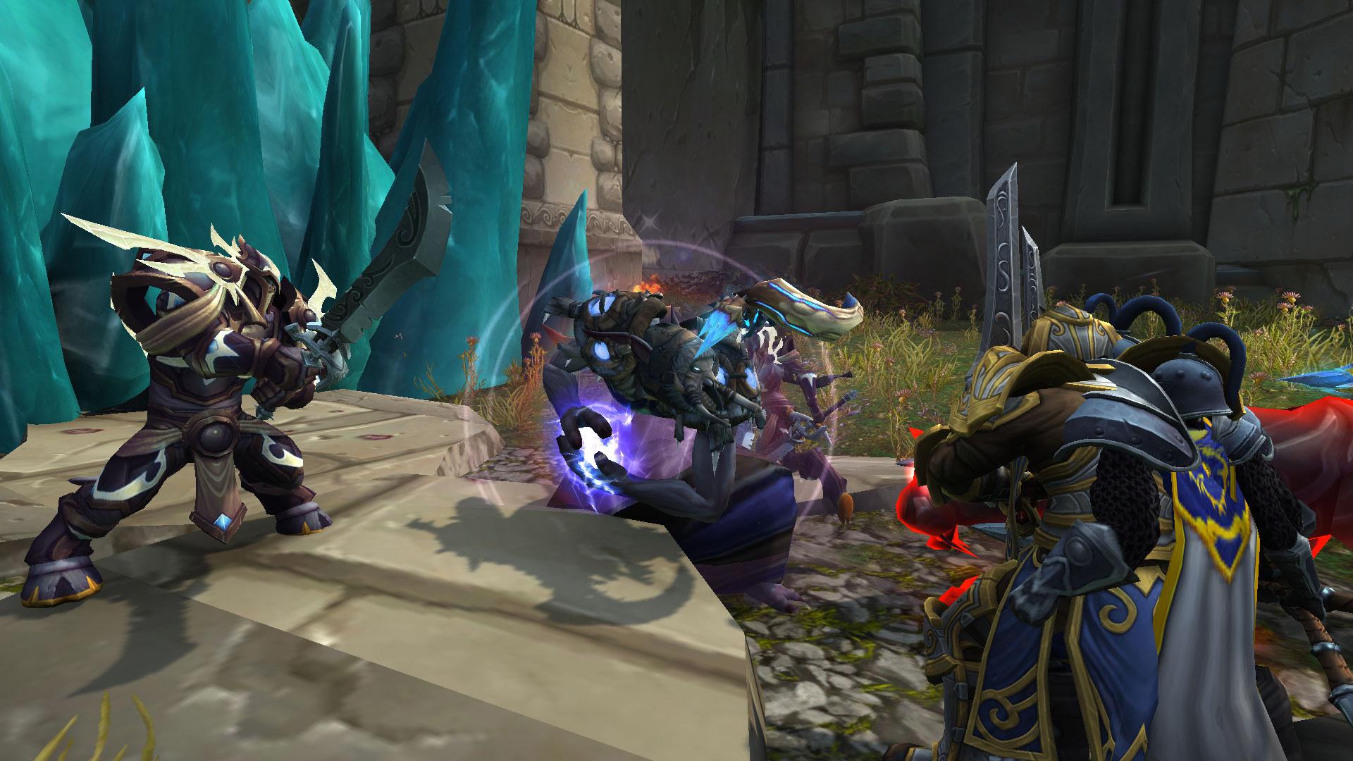 Les Trolls sombrelance défendent le donjon