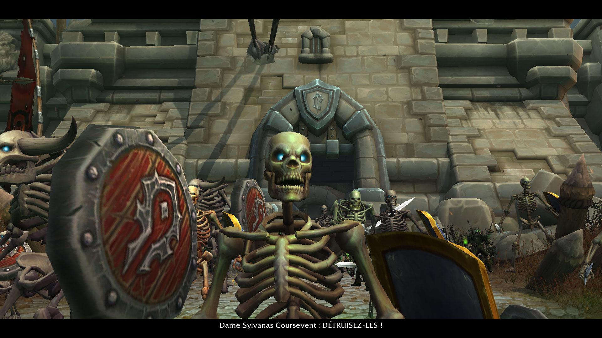 Bataille de Lordaeron - Extrait de cutscene