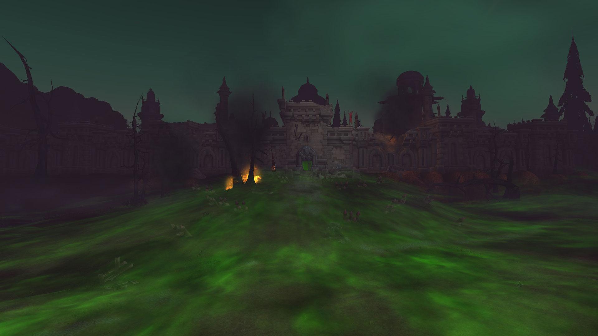 Une partie des clairières de Tirisfal est métamorphosée après la bataille de Lordaeron
