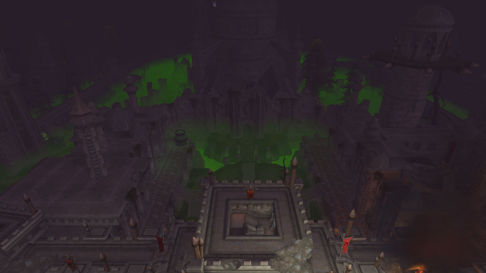 Les ruines de Lordaeron sont couvertes de peste et Fossoyeuse est détruite