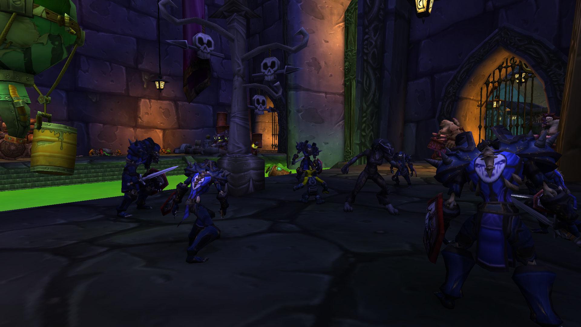 Les espions de l'Alliance parviennent à obtenir l'information qu'ils cherchent et s'enfuient