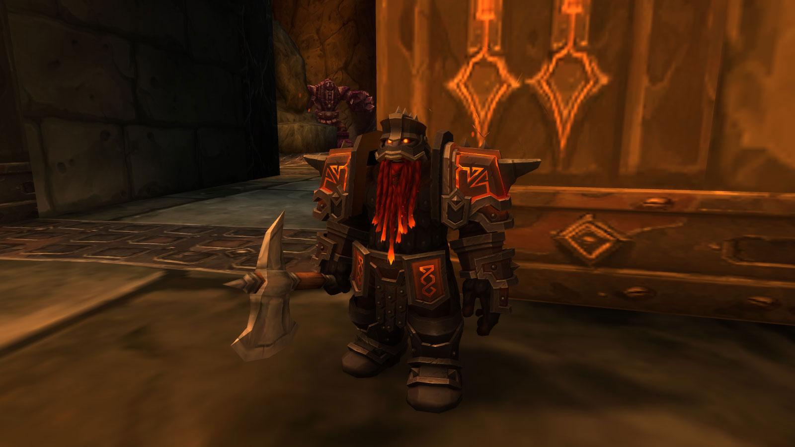 Garde sombrefer de la ville Ombreforge