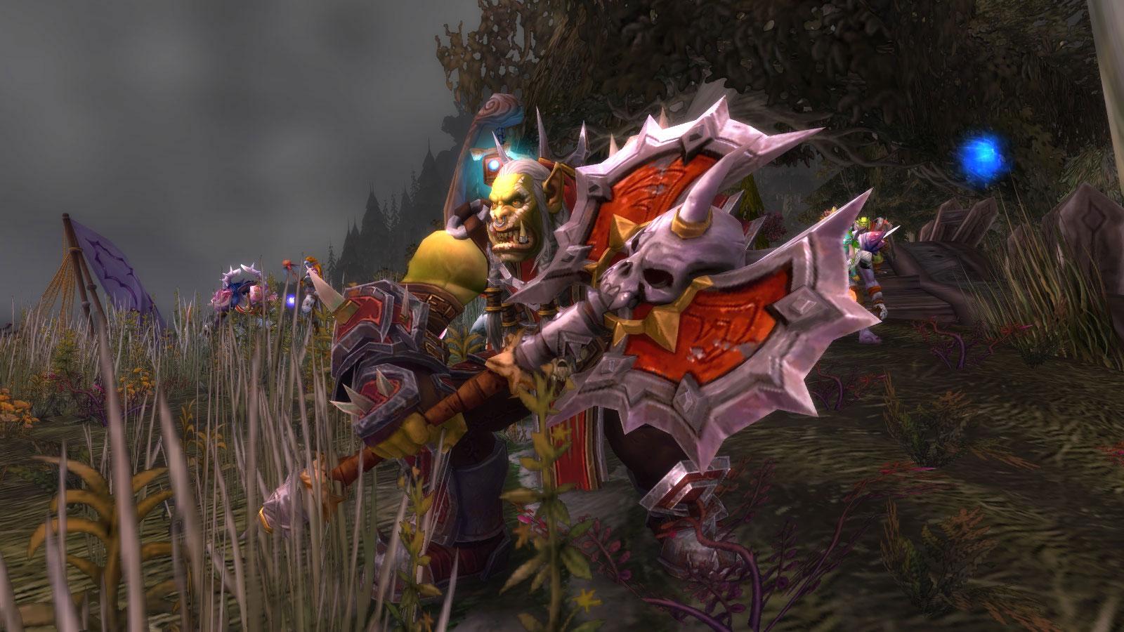 Le haut seigneur Saurcroc vous attend aux abords de Lor'danel