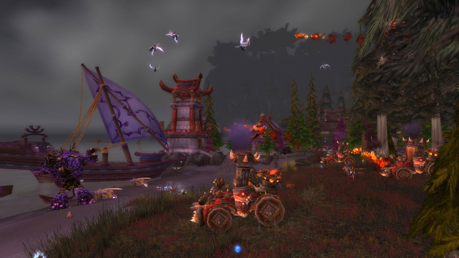 La Horde attaque Lor'danel