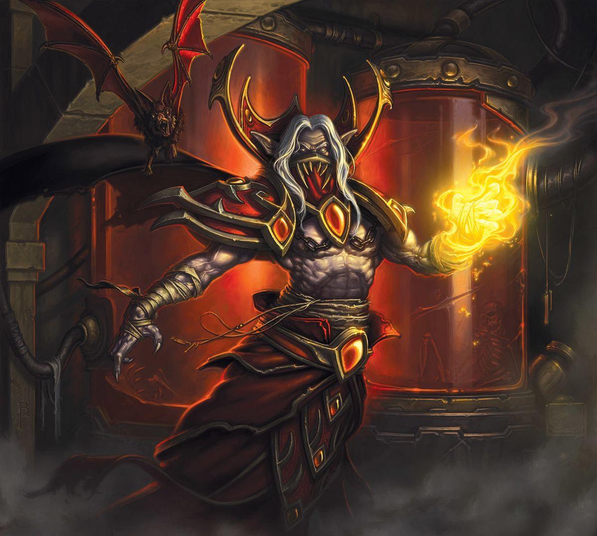 Le prince de sang Dreven est un San'layn au service de la Horde
