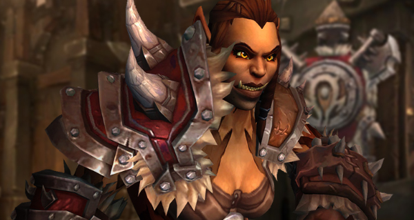 orc de draenor : race alliee battle for azeroth