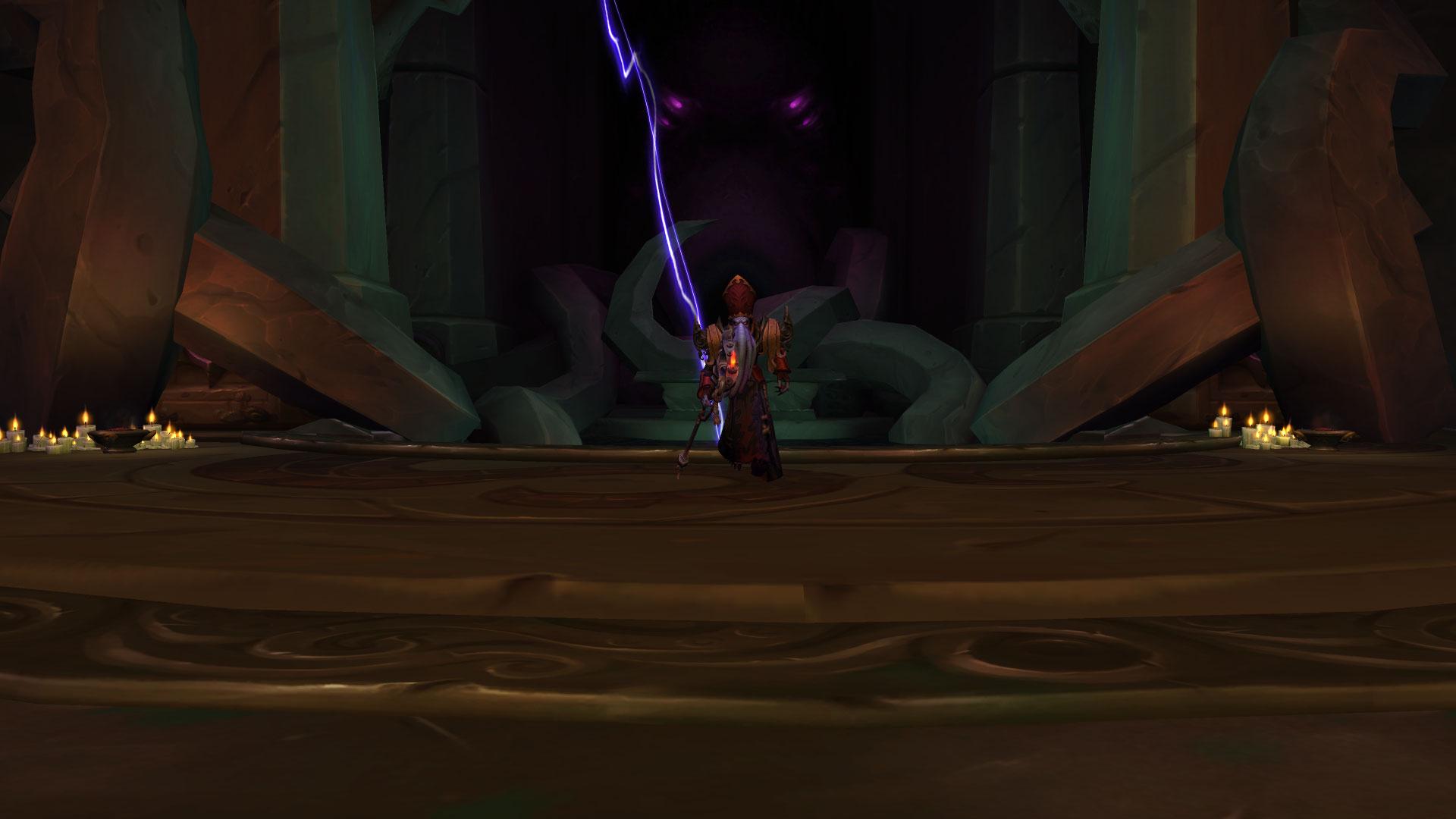 Le seigneur Chantorage utilise les pouvoirs du Vide pour vous attaquer