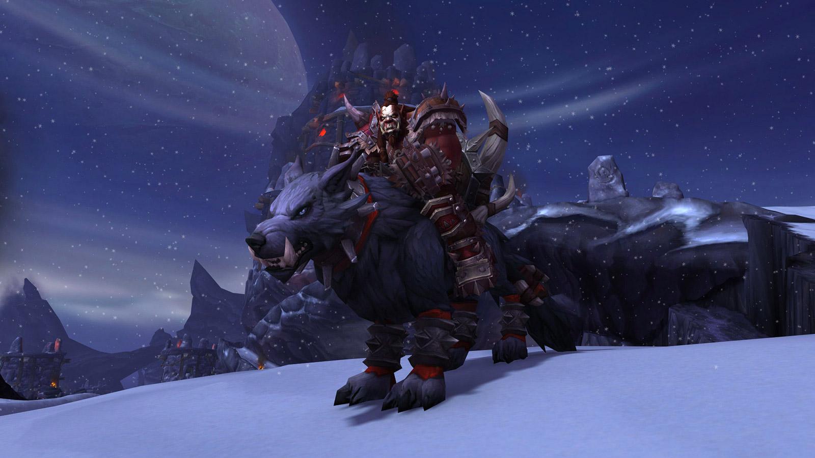 Un scénario permet d'apprendre comment les Orcs Mag'har rejoignent la Horde