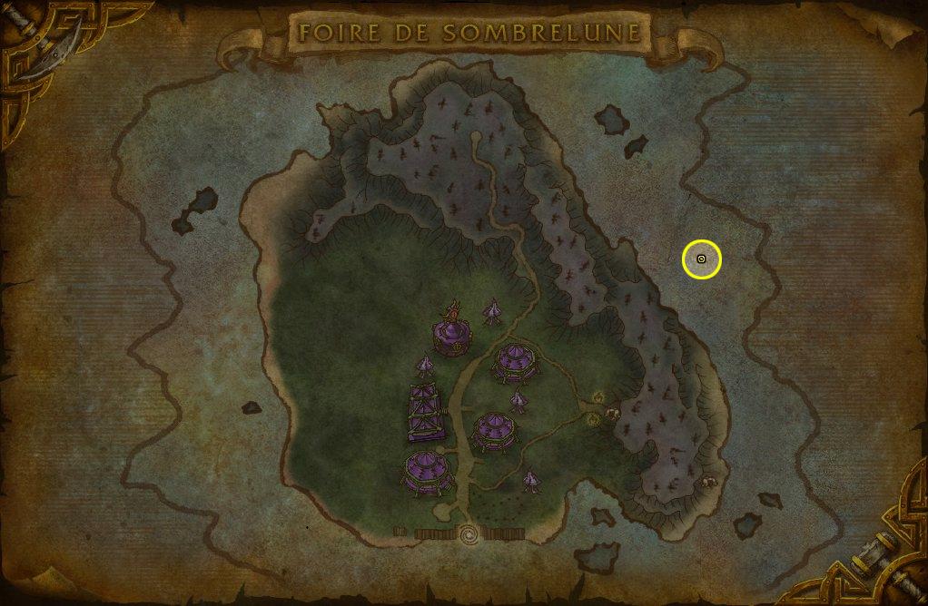 Trouvez Erinys dans la Caverne de la complainte