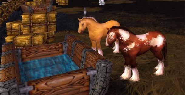 Chevauchez le poney pour valider le haut-fait