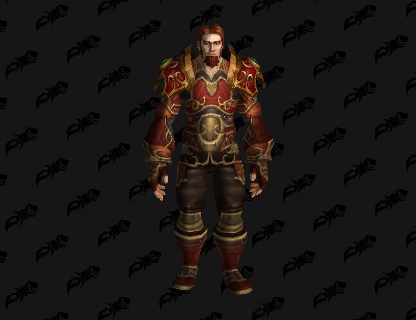 Nouveau modèle de Rhonin dans Battle for Azeroth