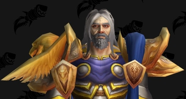 battle for azeroth build 26610 : nouveau modele d'uther et rhonin
