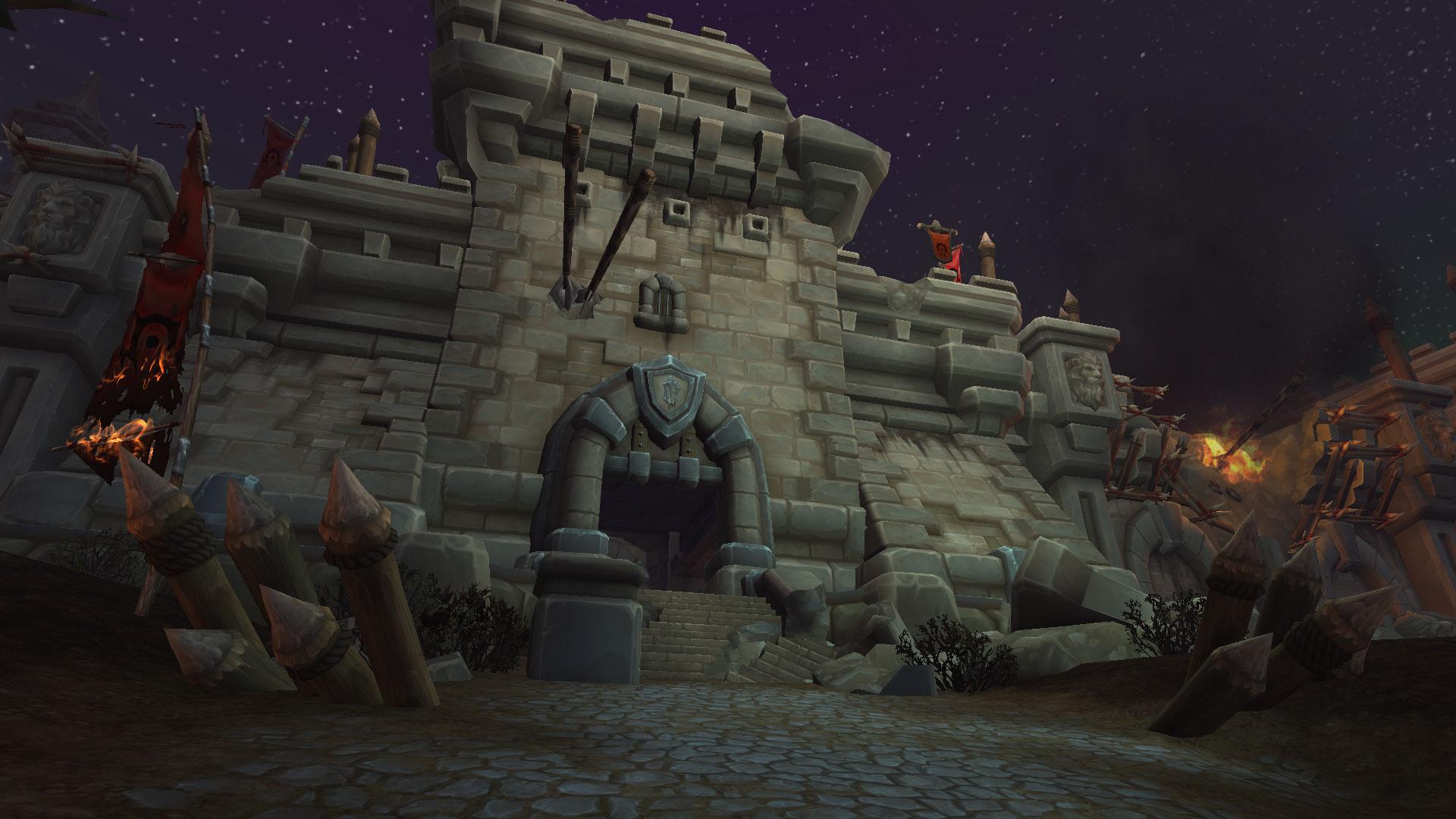 Portes des ruines de Lordaeron