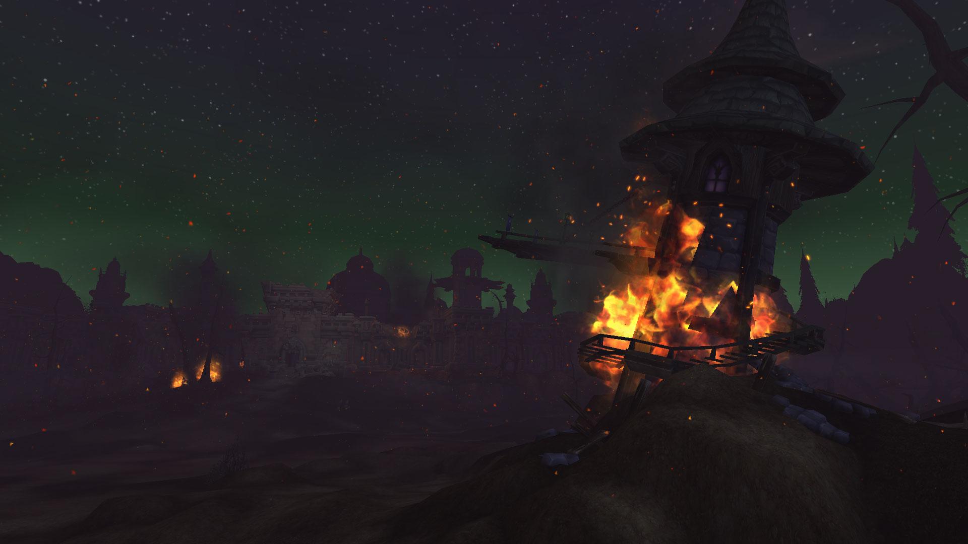 Les tours de zeppelins de la Horde sont détruites