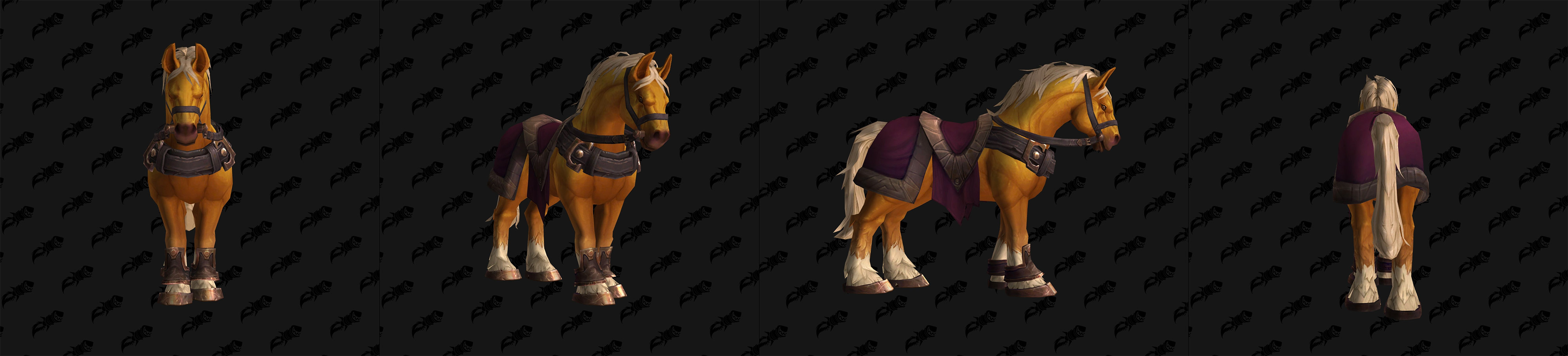 Monture Cheval de Goldmane - Chantorage