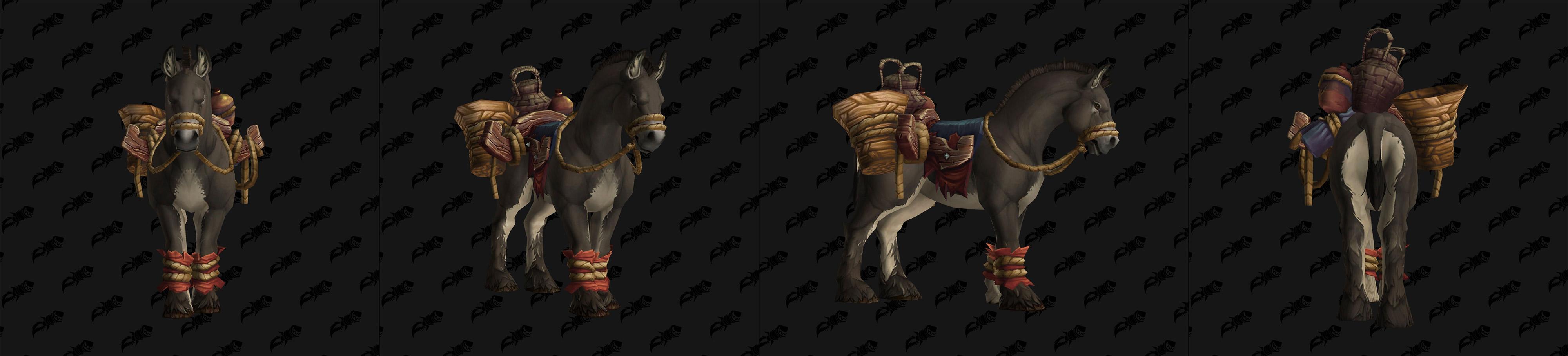 Monture Pack Mule - Drustvar