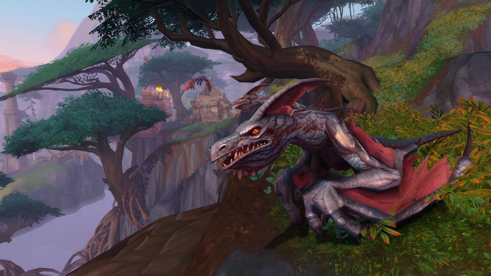 La famille de Pterreurdactyle disponible à Battle for Azeroth