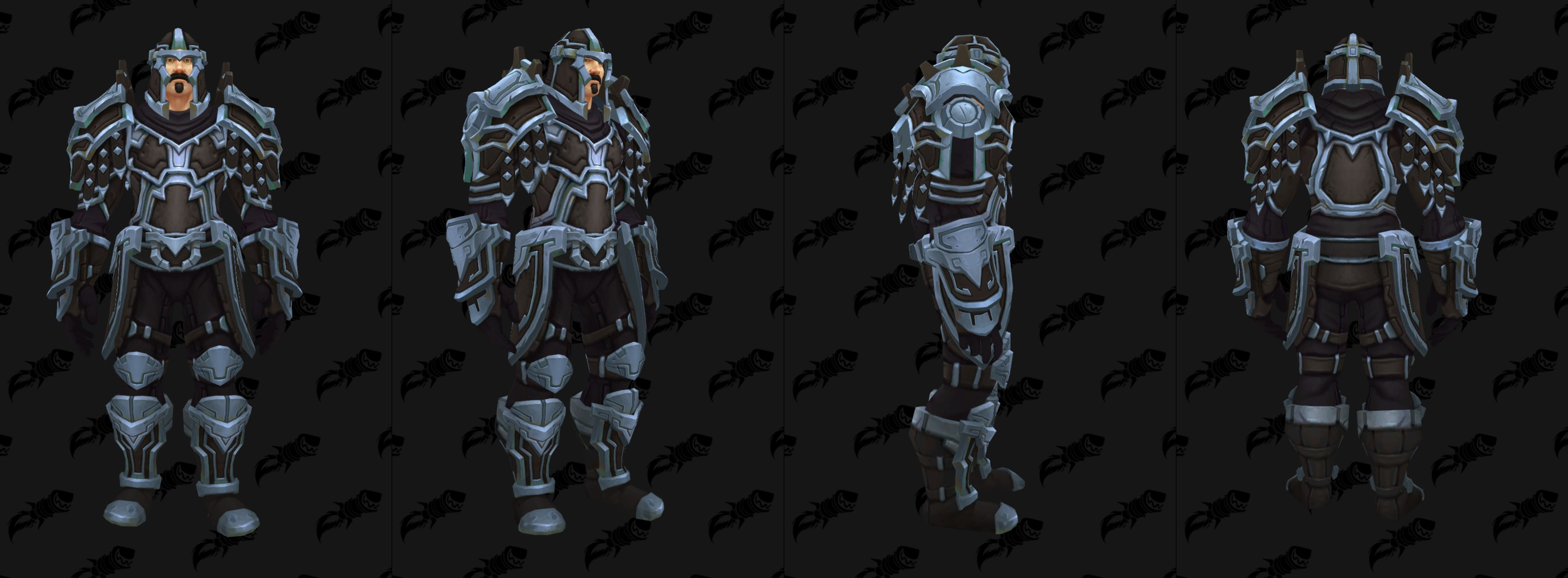 Ensemble d'armure Uldir en cuir - Mode Héroïque