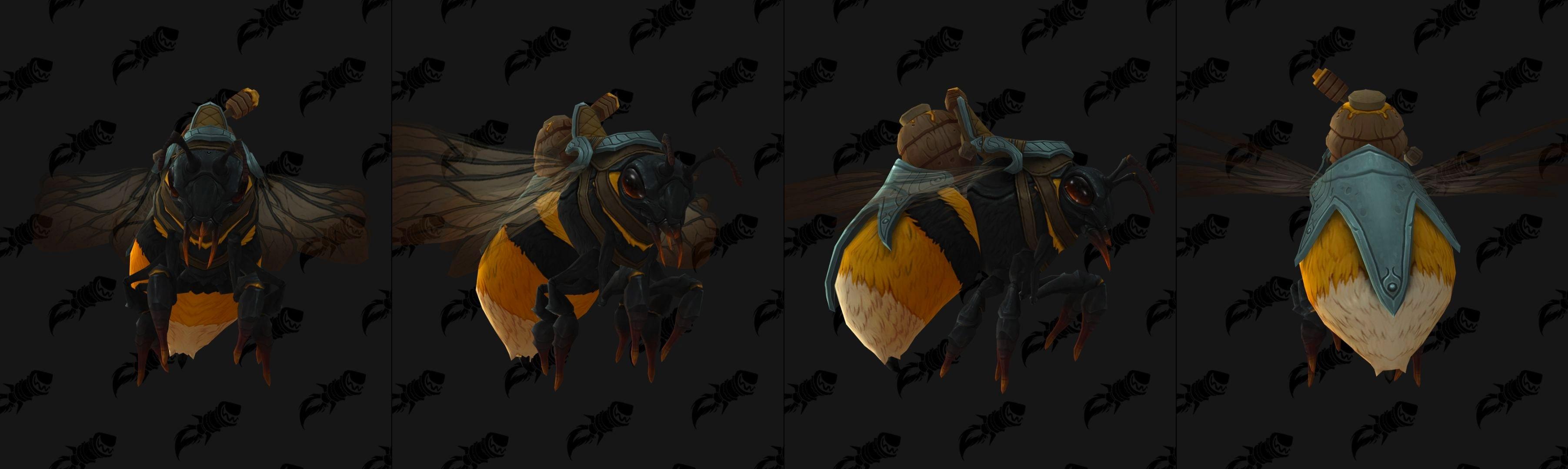 Tome de classe Mage : métamorphose abeille