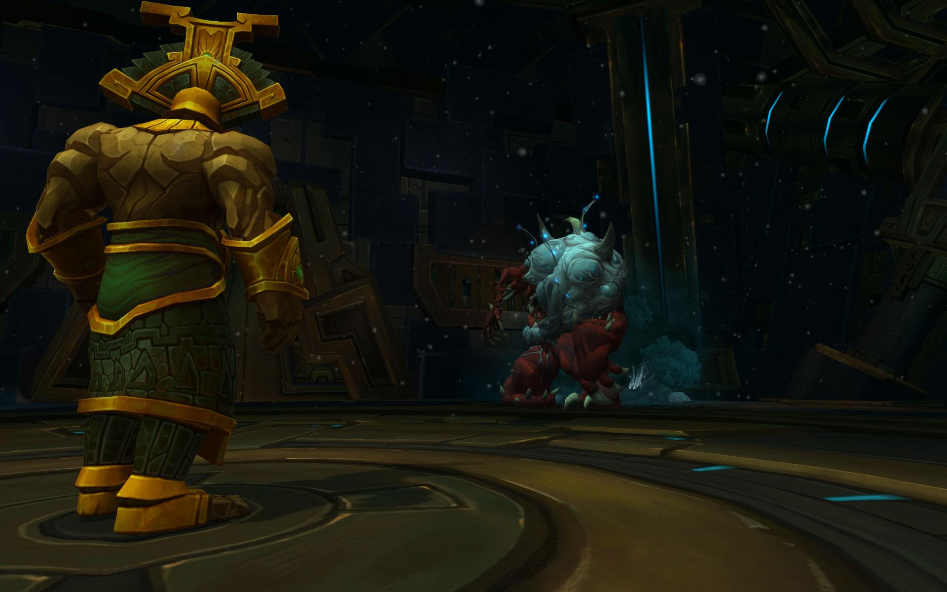 Le gardien des Titans Hezrel vous aide à triompher de la monstruosité