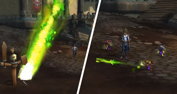 battle for azeroth - build 26707 : nouvelles animations pour le demoniste
