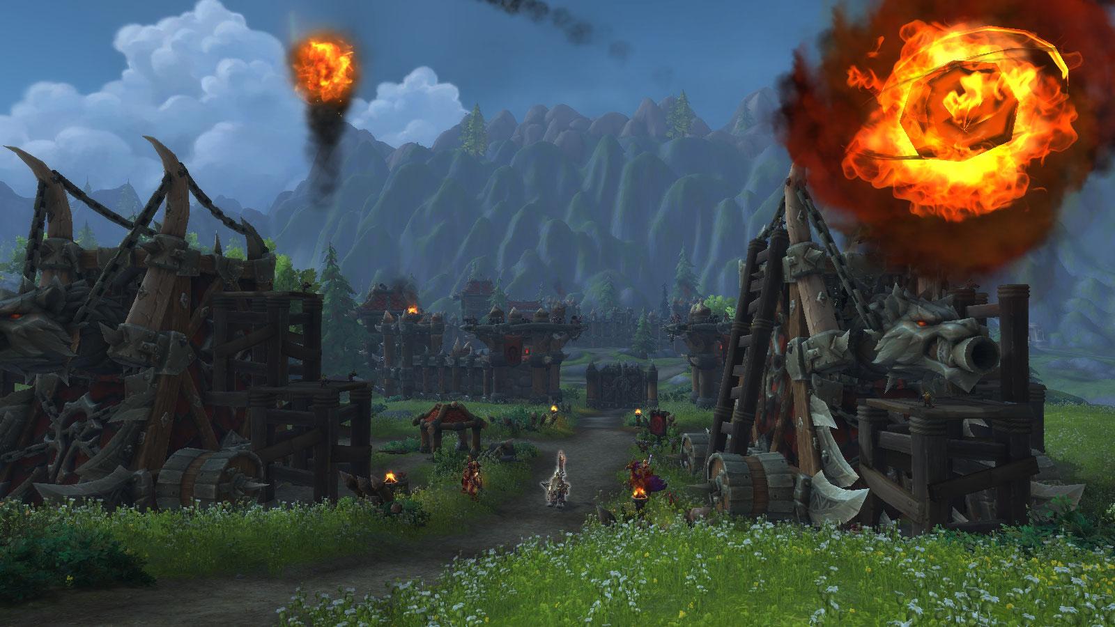Prenez d'assaut le fort de la Horde