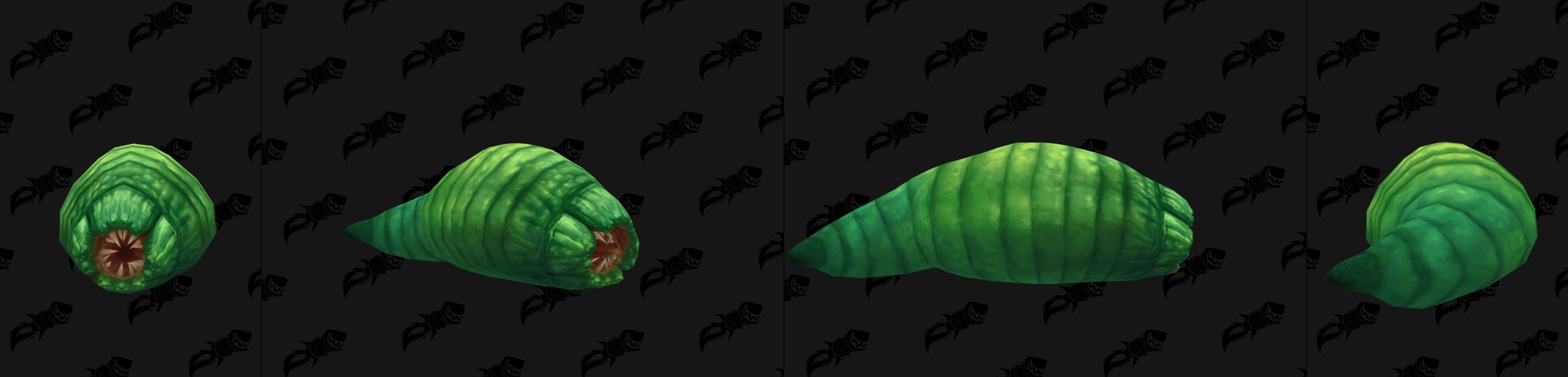 Larve coloris vert dans Battle for Azeroth
