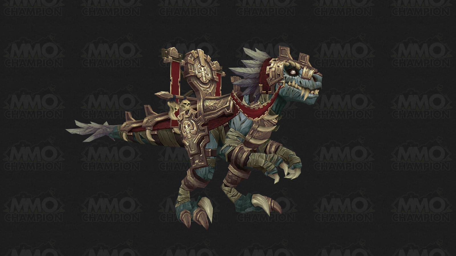 Nouvelle monture : le raptor momifié dans Battle for Azeroth