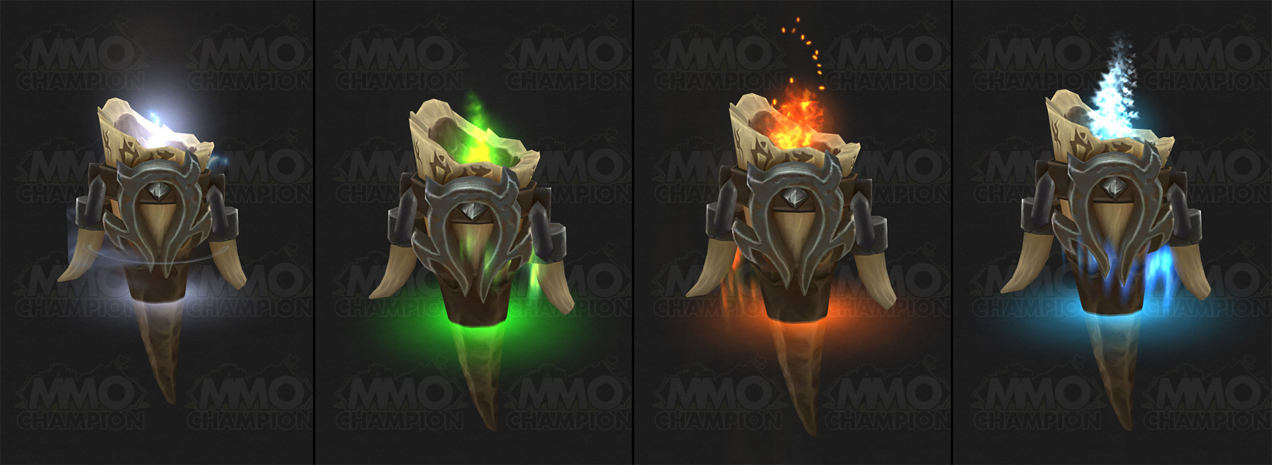 Modèles des totems des Orcs Mag'har