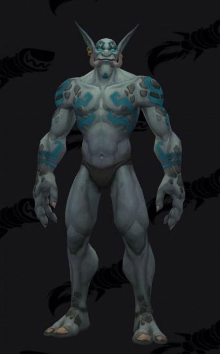 Troll zandalari : anciens tatouages
