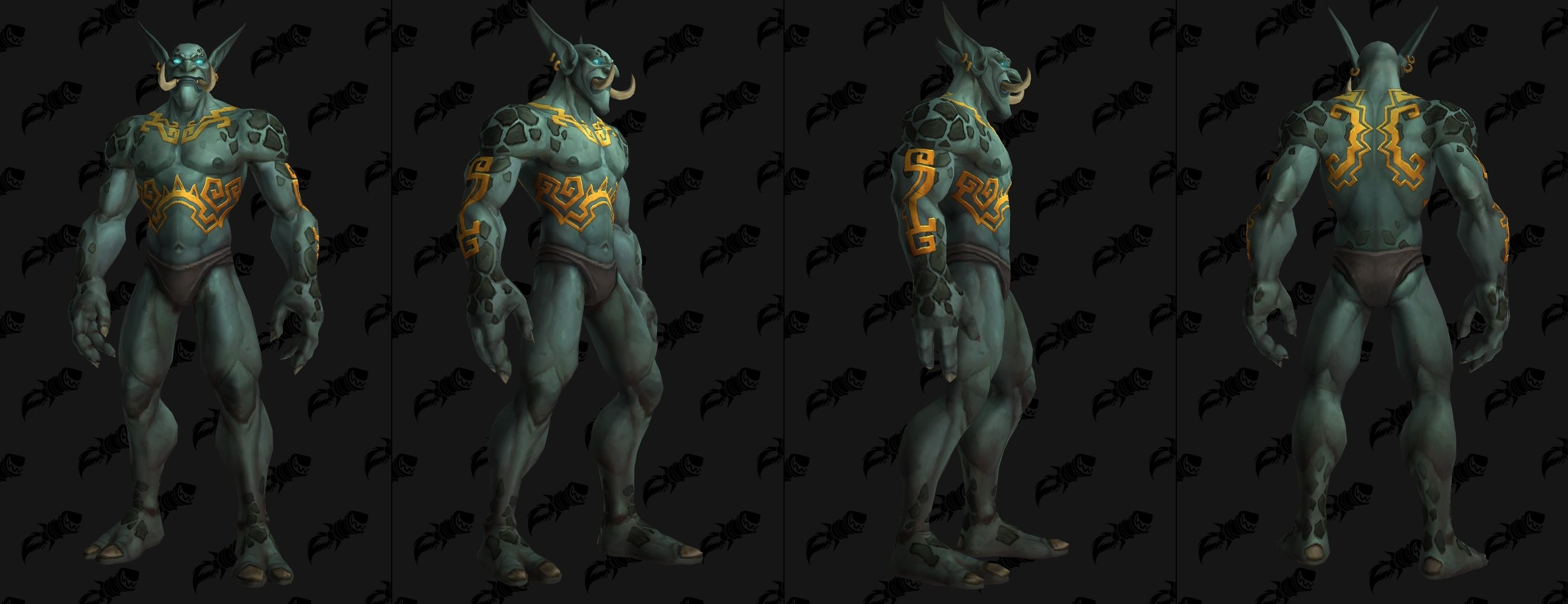 Wow Druid Tattoo Troll zandalari : de n...