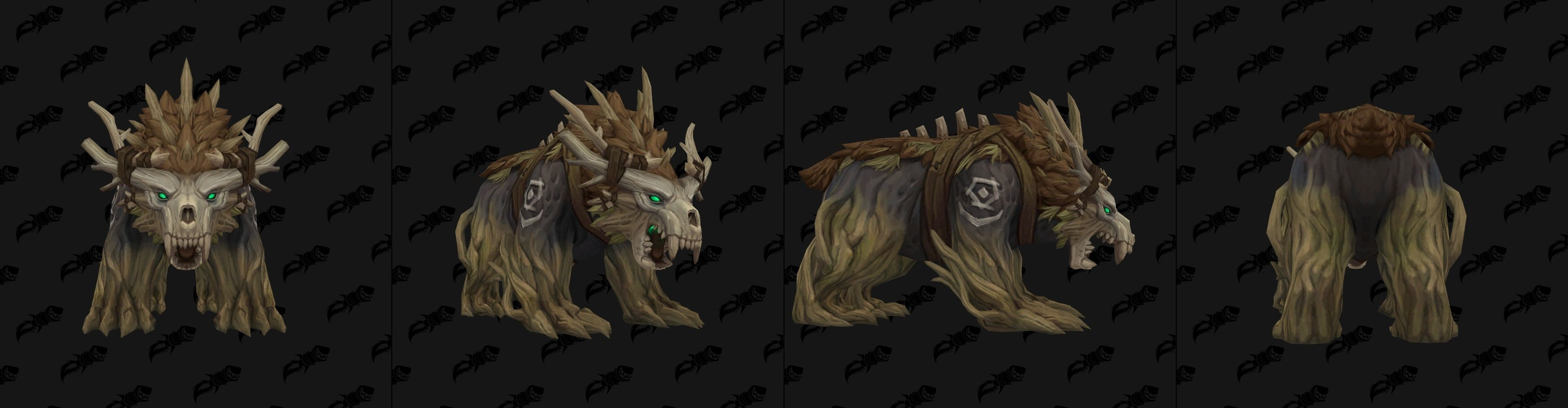 Forme d'ours pour humain de Kul Tiras - coloris marron - Battle for Azeroth
