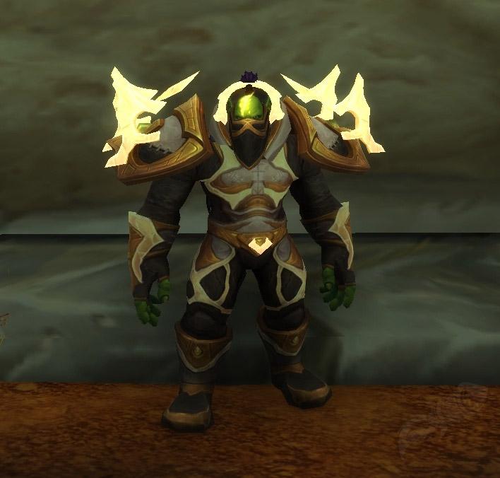 Posture droite des Orcs