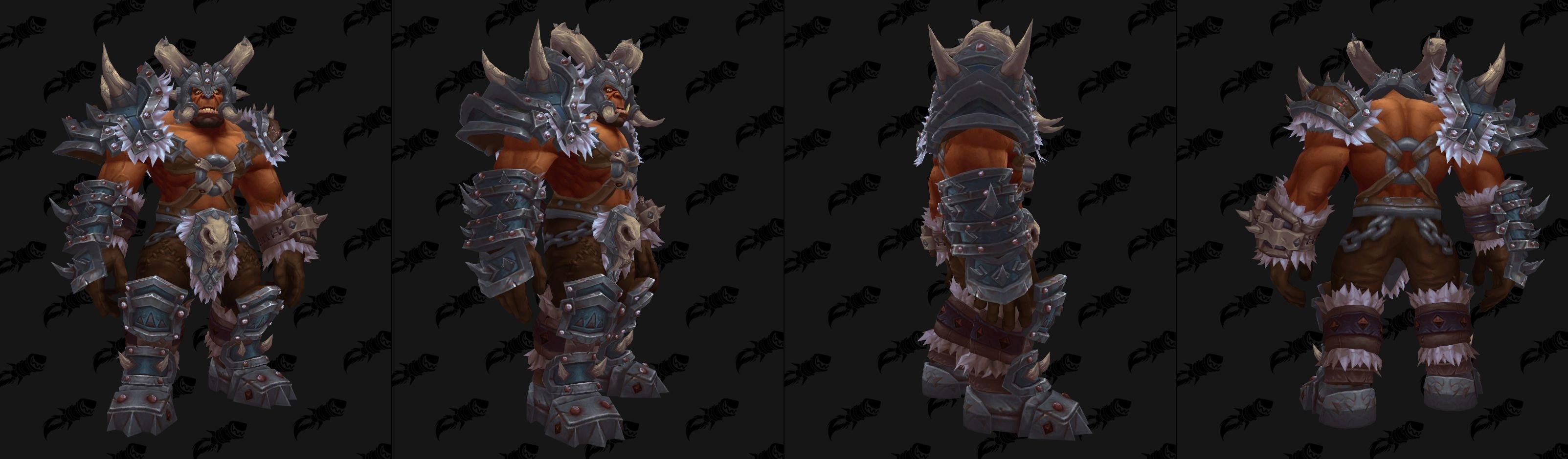 Armure héritage des Orcs Mag'har - Coloris Loup-de-givre