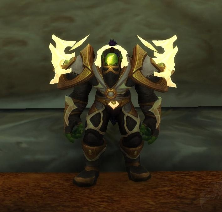 Posture voutée des Orcs