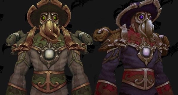 kul tiras : nouveaux modeles d'armure et de chapeaux