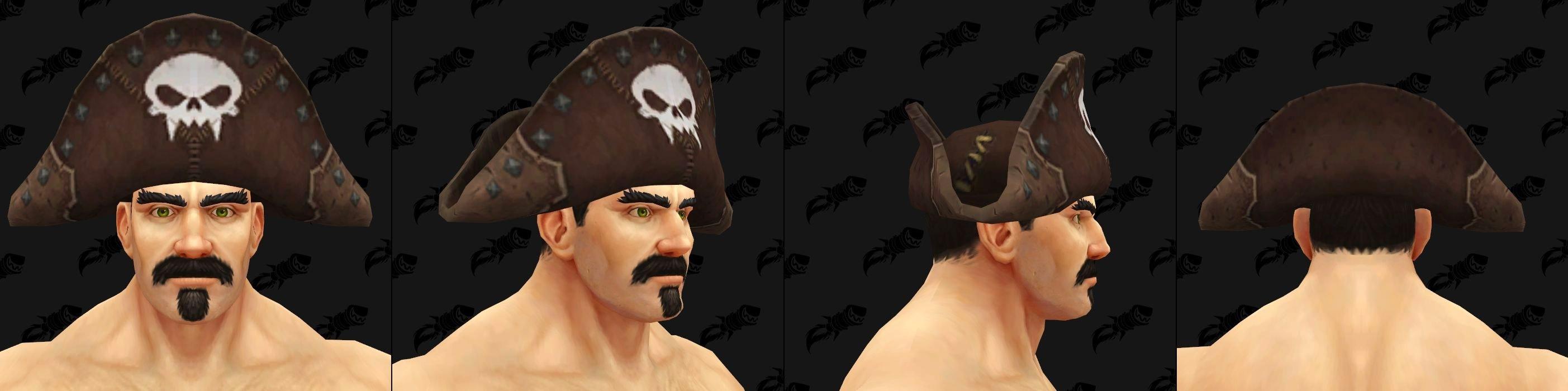 Chapeaux de Kul Tiras - Modèle 1