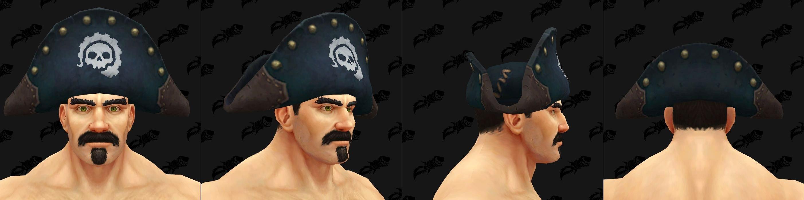 Chapeaux de Kul Tiras - Modèle 3