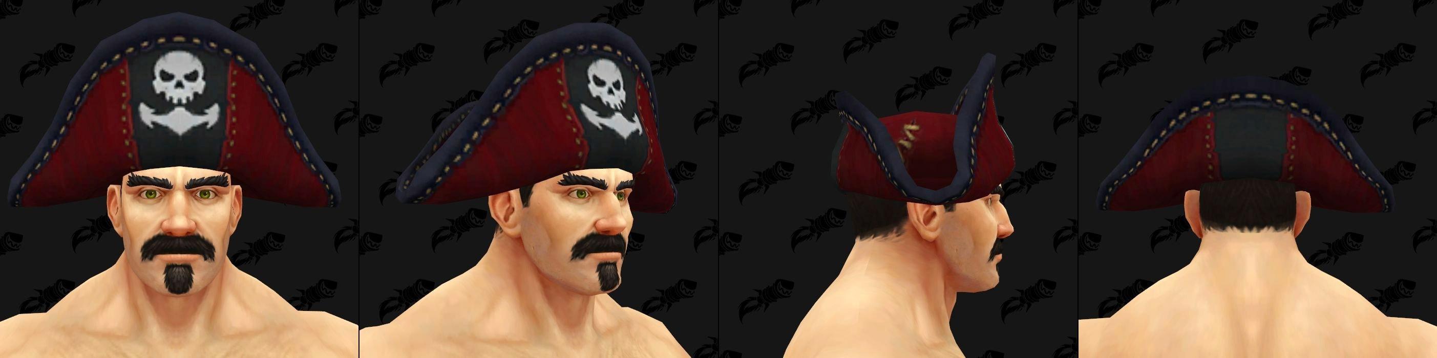 Chapeaux de Kul Tiras - Modèle 4