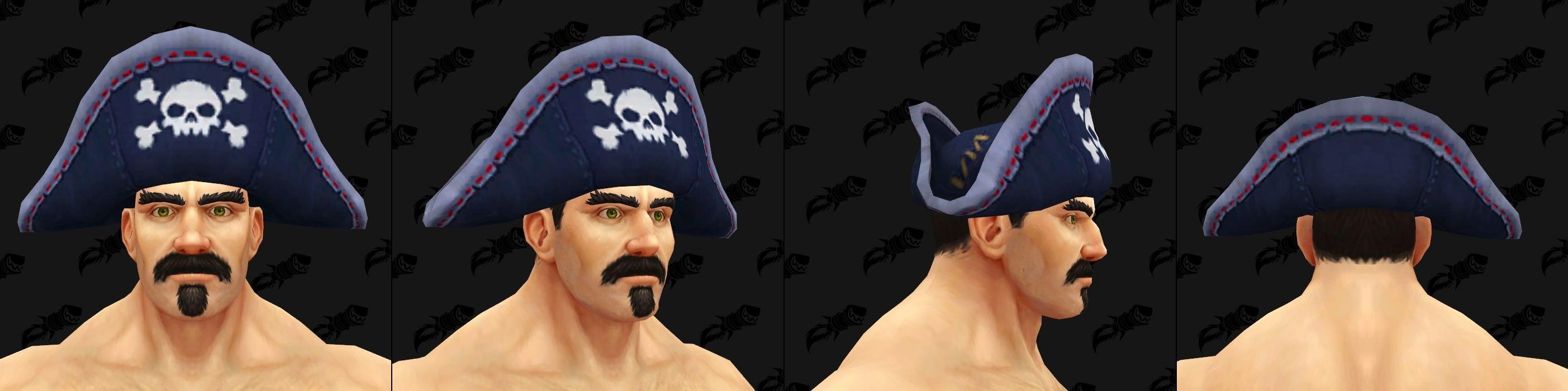 Chapeaux de Kul Tiras - Modèle 6