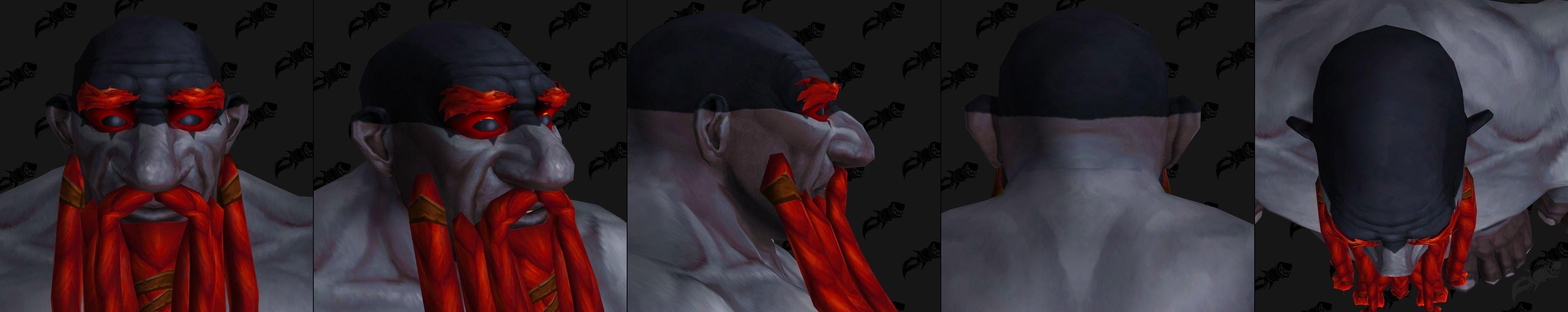 Nain Sombrefer (Homme) et options de tatouage de tête