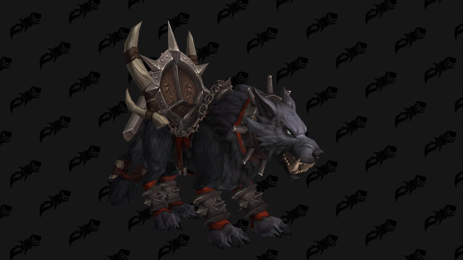 La monture Loup redoutable mag'har est délivrée en débloquant la race alliée Orc Mag'har