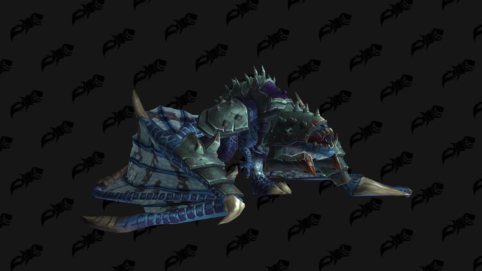 La monture Proto-drake du gladiateur sinistre est une monture PVP de l'extension Battle for Azeroth