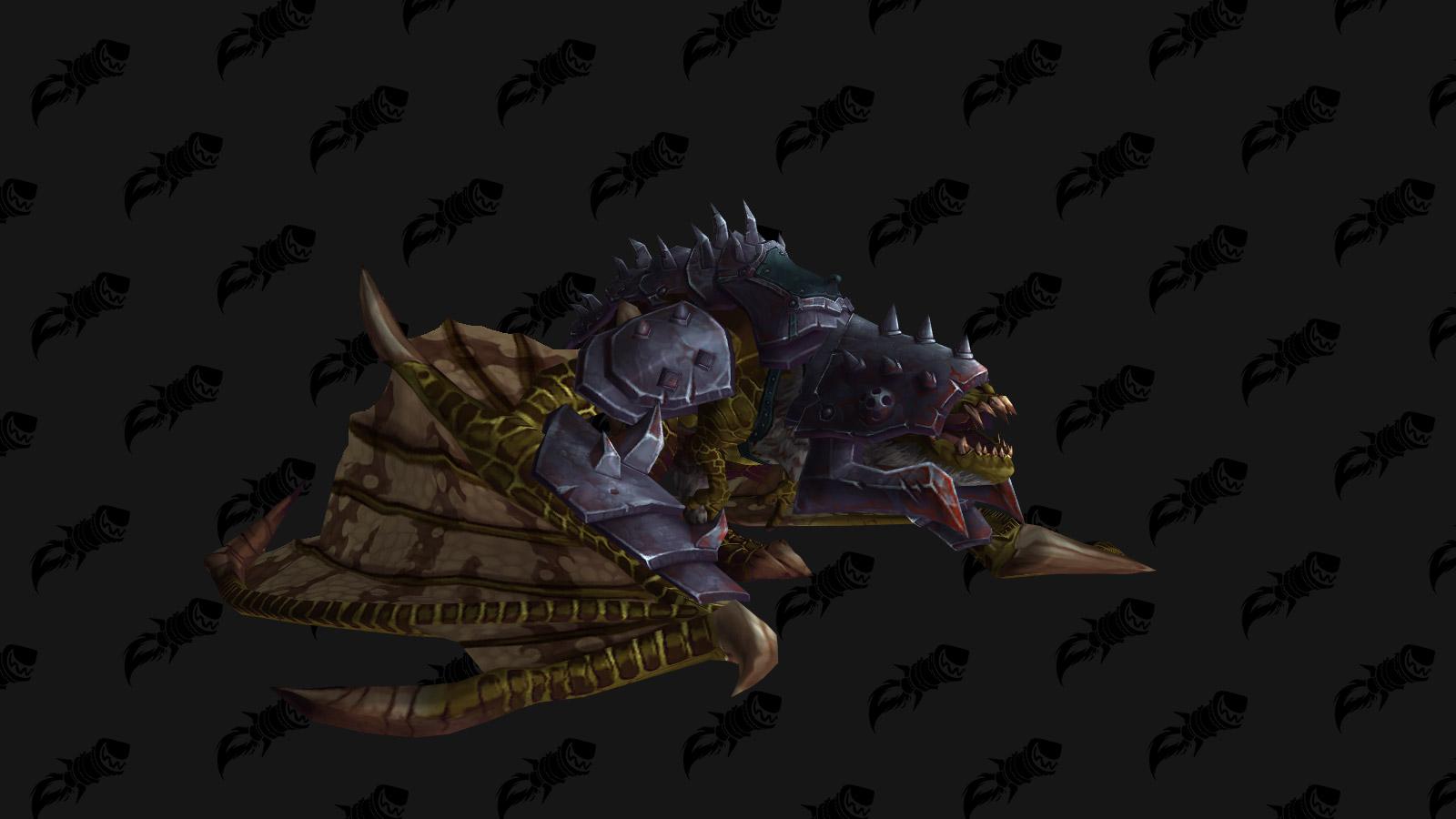 La monture Proto-drake doré du gladiateur est une monture PVP de l'extension Battle for Azeroth