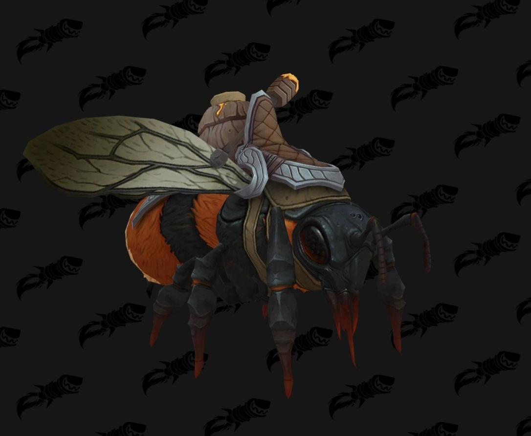 Monture abeille coloris marron